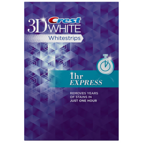 Crest 3D Whitestrips 1HOUR EXPRESS
